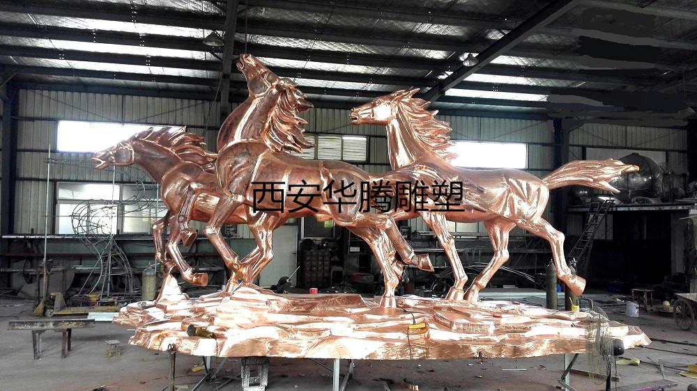 西安锻铜雕塑